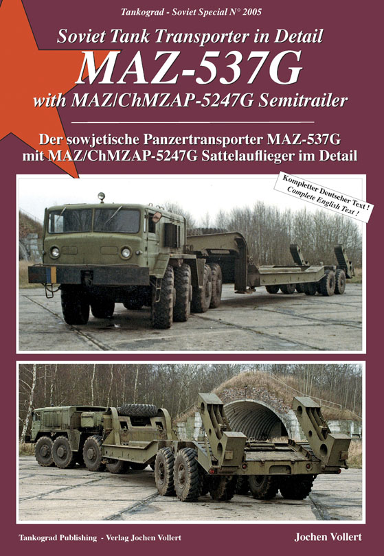 Soviet Tank Transporter In Detail Maz 537g With Maz