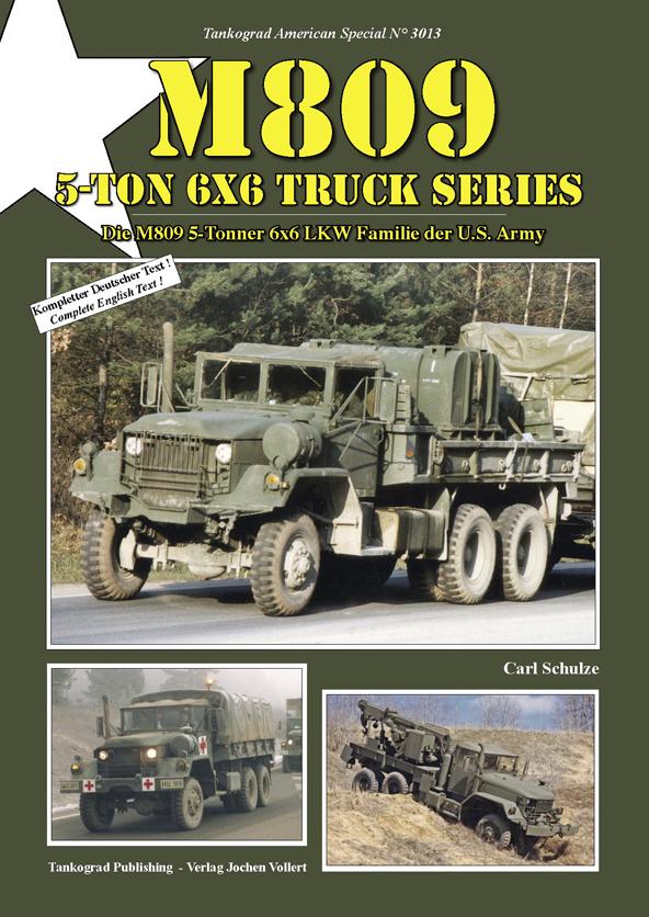 M809 5 Ton 6x6 Truck Series Tankograd Publishing