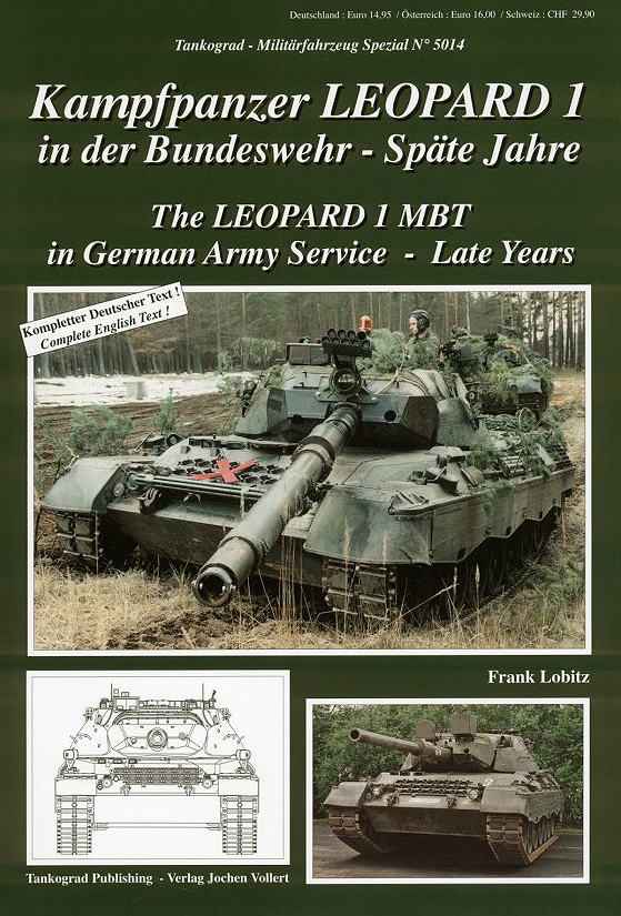 Leopard 1 Mbt In German Army Service Late Years