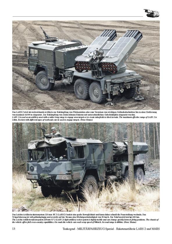 Lars 2 Mars Modern German Army Rocket Artillery