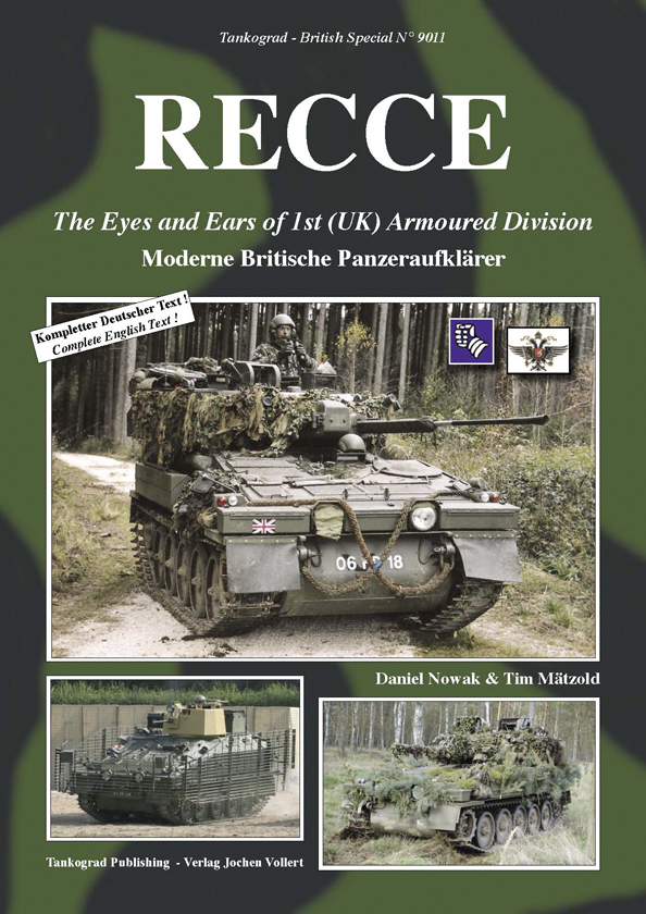 Recce The Eyes And Ears Of 1st Uk Armoured Division