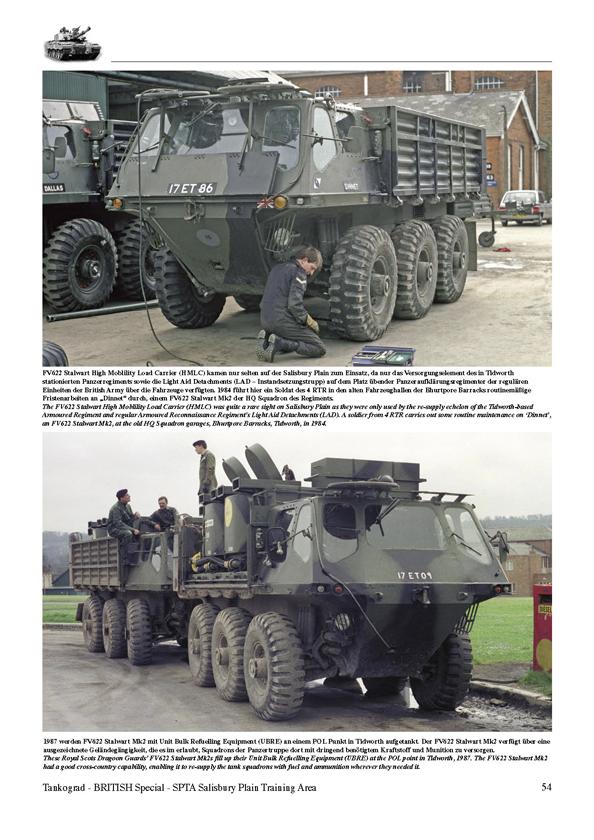 SALISBURY PLAIN TRAINING AREA British Army Vehicles on SPTA - 1970s to Today - TANKOGRAD ...
