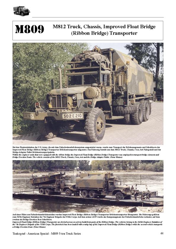 M809 5-ton 6x6 Truck Series - TANKOGRAD Publishing - Verlag Jochen