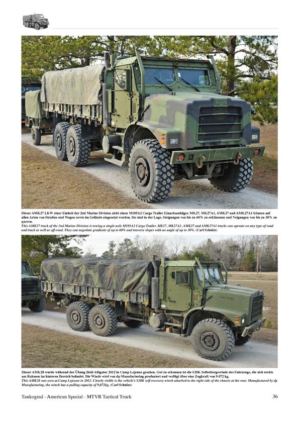 MTVR<br>Das Arbeitspferd der US Marines - TANKOGRAD Publishing ...