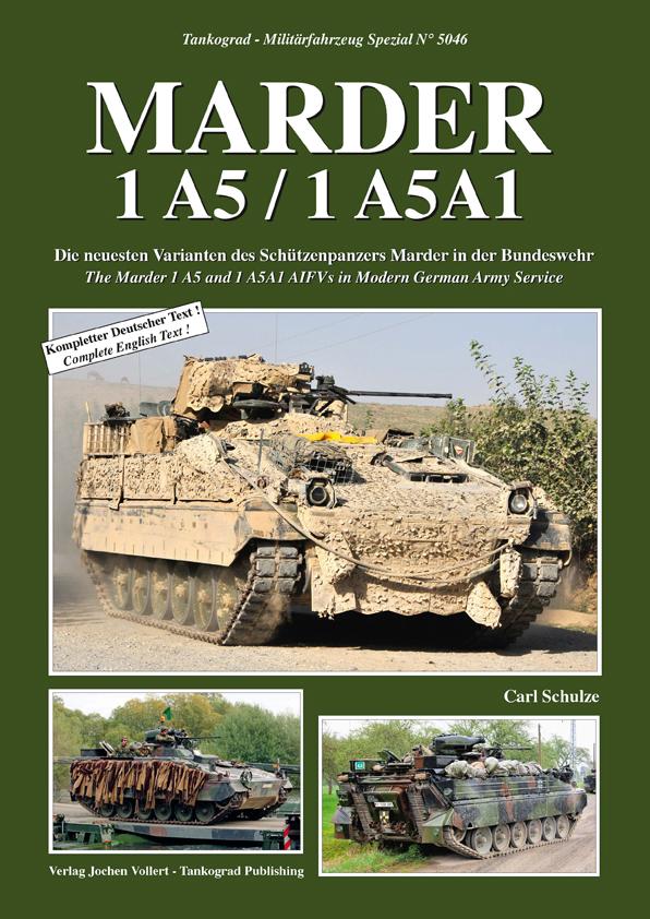 1A5A1 5046 MARDER 1 A5 Tankograd NEU   /&