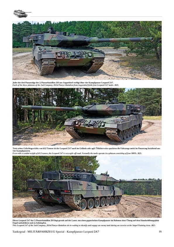 2add03ab0018 ... Kampfpanzer LEOPARD 2A7 br The World s Best Tank - Development History  and Technology ...