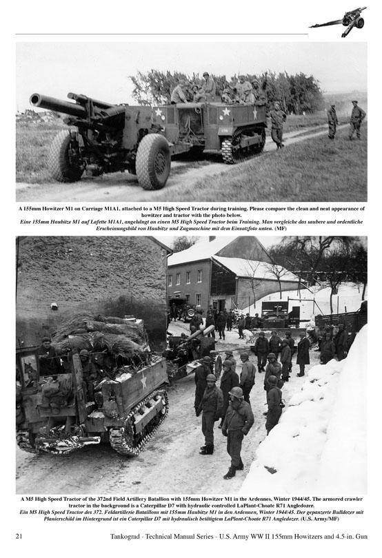 Tankograd 6012 US WWII 155mm Howitzer M1 /& M1917 NEU/&