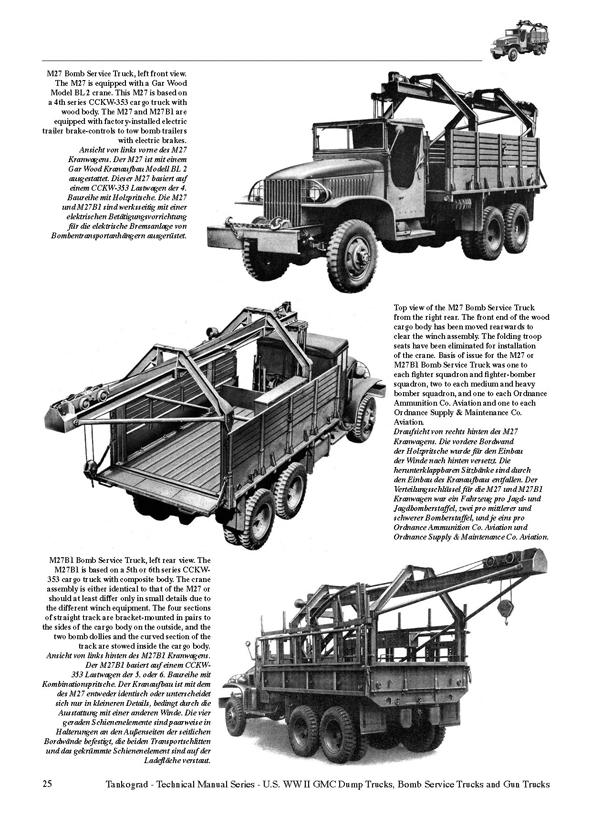 U.S. WW II GMC CCKW 2 ½-TON 6x6 Dump Trucks, Gun Trucks ...
