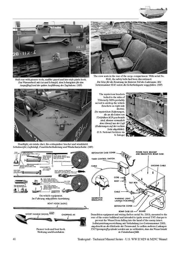u s ww ii m29 and m29c weasel tankograd publishing verlag mink or weasel u s ww ii m29 and m29c weasel