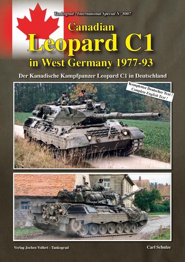 Canadian Leopard C1 In West Germany 1977 93 Tankograd