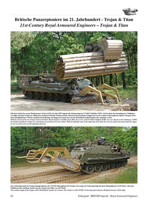 Tankograd 9002 Fahrzeuge der britischen Panzer-Pioniere Modellbau//Fotos//Bilder