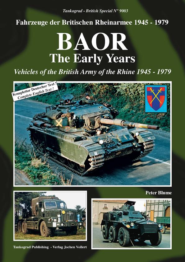 Tankograd 9006 BAOR-Fahrzeuge der britischen Rheinarmee 1980-94 Modellbau//Fotos