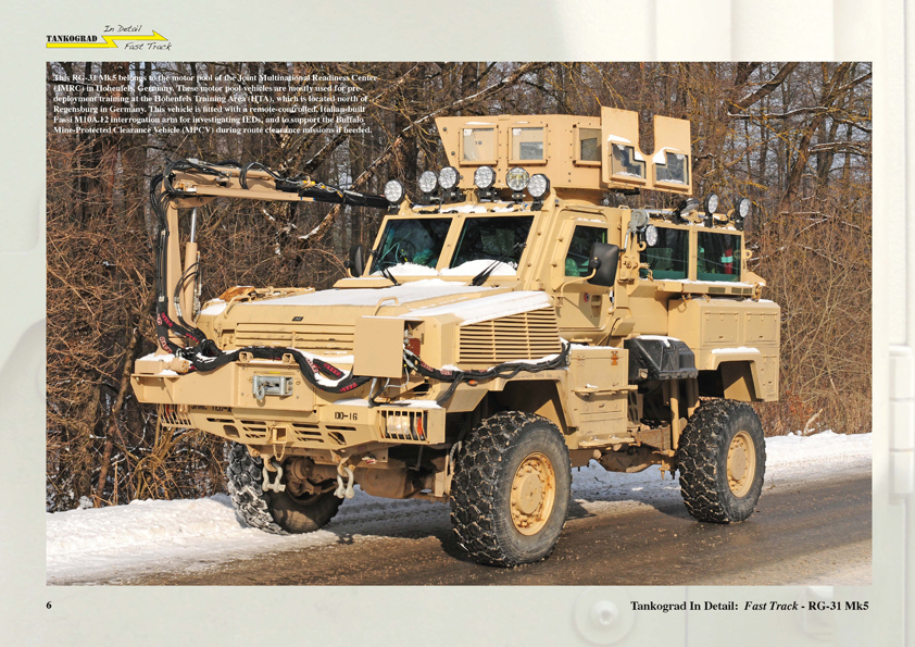 Rg 31 Mk 5 Us Medium Mine Protected Vehicle Tankograd