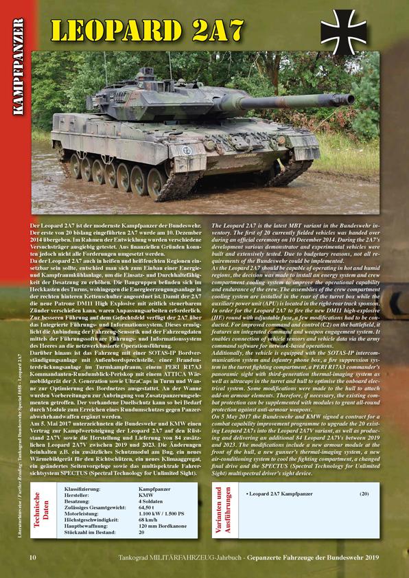 Tankograd Yearbook<br>Armoured Vehicles of the Modern German